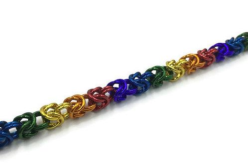 Byzantine Bracelet, Bright Rainbow ($19-$22)