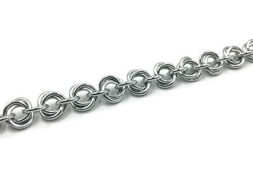 Flower Bracelet, Aluminum ($11-$14)