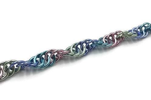 Spiral Bracelet, Pastels ($12-$15)