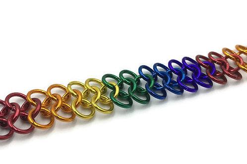Classic European Bracelet, Bright Rainbow ($11-$14)