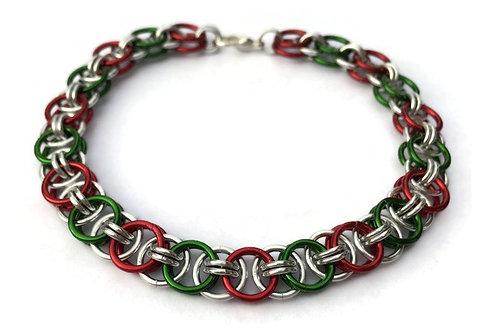 Helm Chain Bracelet, Christmas ($20-$23)