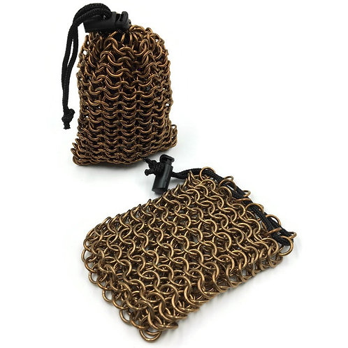 Bronze Dice Bag, Solid, Tight ($45) or Loose ($35) Weave