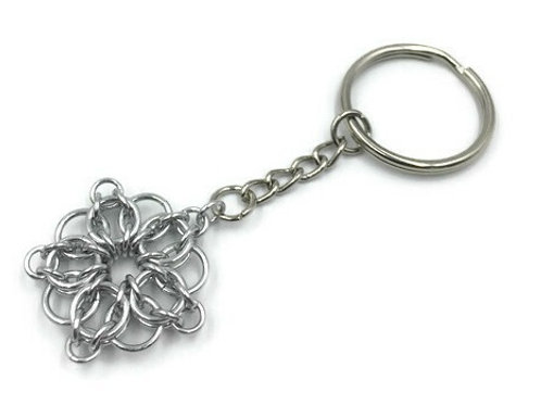 Celtic Star Keychain