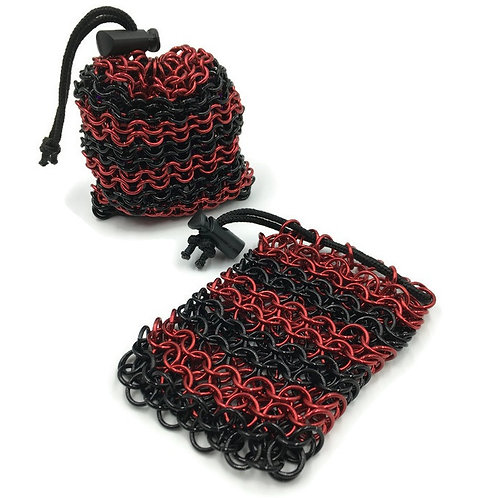 Dice Bag, Horizontal, Loose Weave