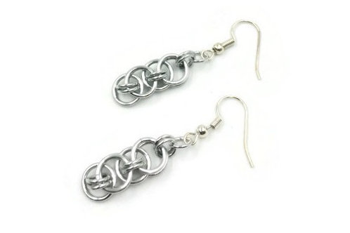 Helm Chain Earrings, Solid, Basic Hooks