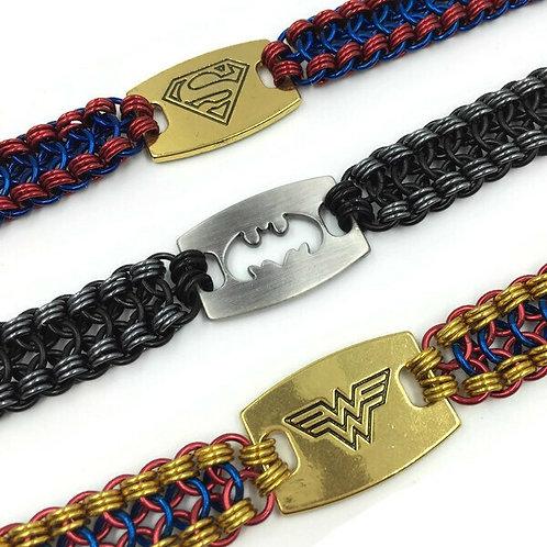 Double Barrel Superhero Slider Bracelet ($32-$35)