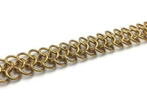 Classic European Bracelet, Brass ($11-$14)