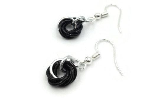 Single Mobius Earrings, Vine, Basic Hooks
