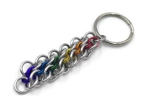 Abhainn Keychain Rainbow