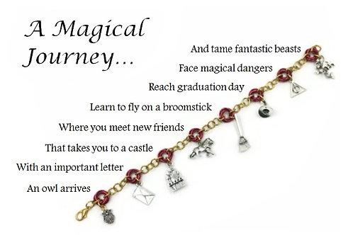 Linked Möbius Bracelet, Magical Journey ($18-$20.50)