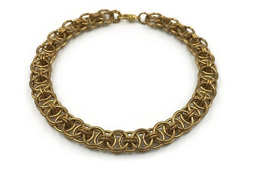 Helm Chain Bracelet, Brass ($20-$23)