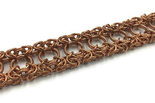Dual Byzantine Bracelet, Copper ($37-$40)