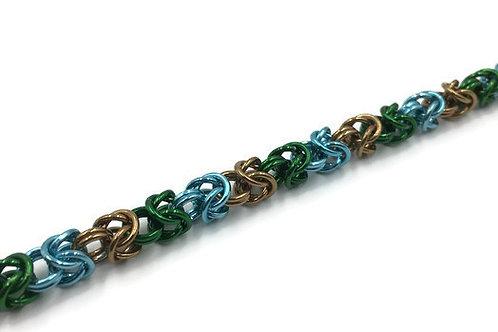 Byzantine Bracelet, Ocean Edge ($19-$22)