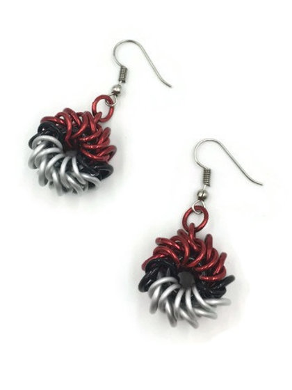 Whirlybird Pokeball Earrings