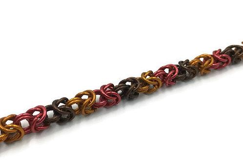 Byzantine Bracelet, Fall Leaves ($19-$22)