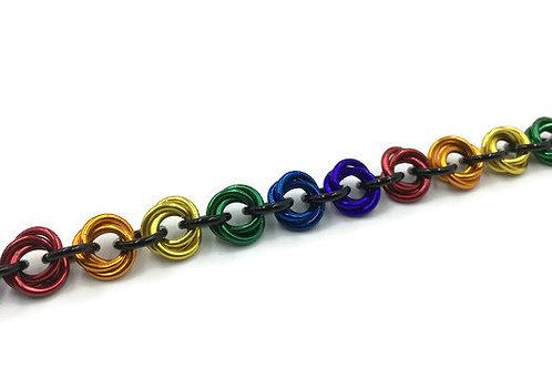 Flower Bracelet, Bright Rainbow ($11-$14)