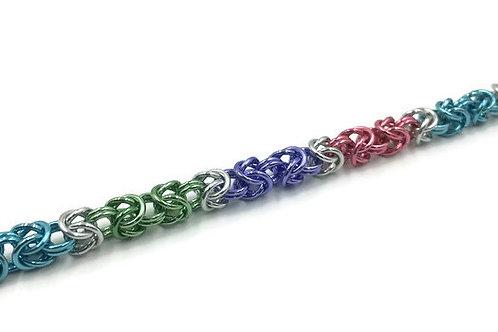Byzantine Bracelet, Pastel Rainbow ($19-$22)