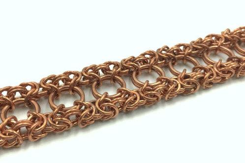 Dual Byzantine Bracelet, Bronze ($39-$42)