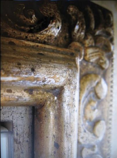 Mirror Retouching detail job