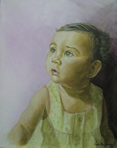 Violeta portrait
