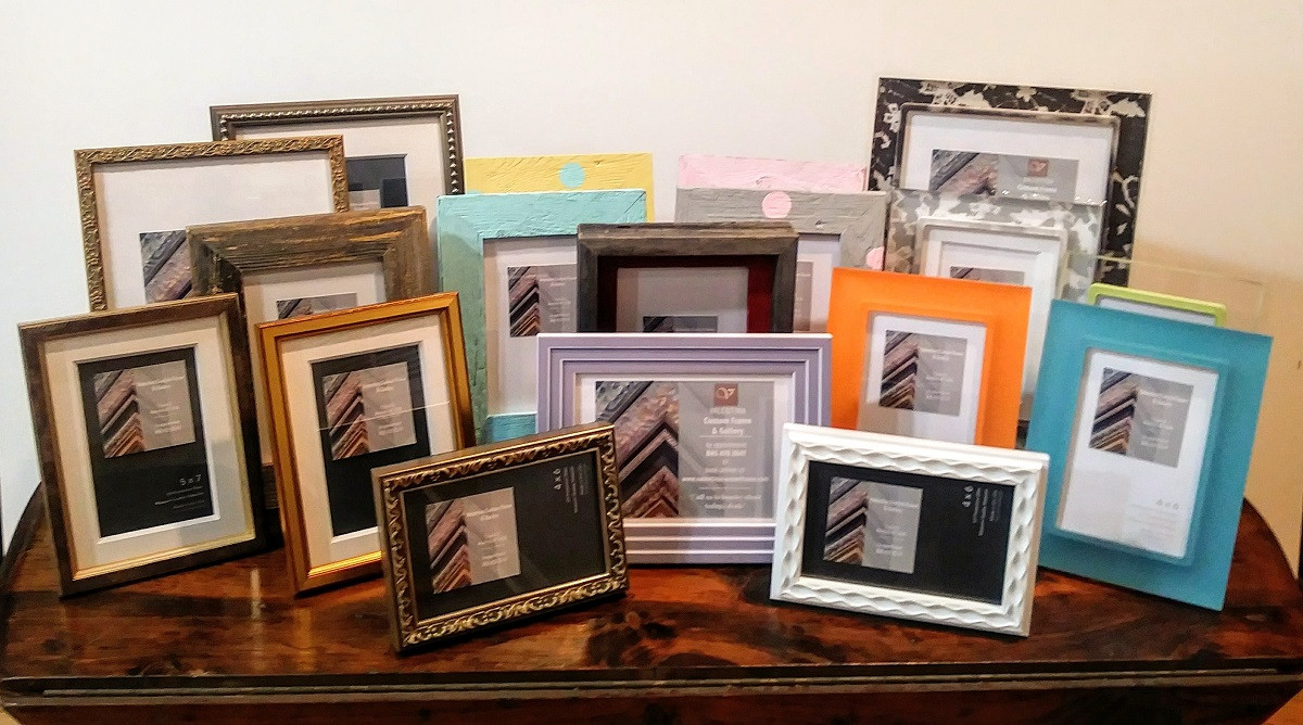 Diverse & Unique photo frames