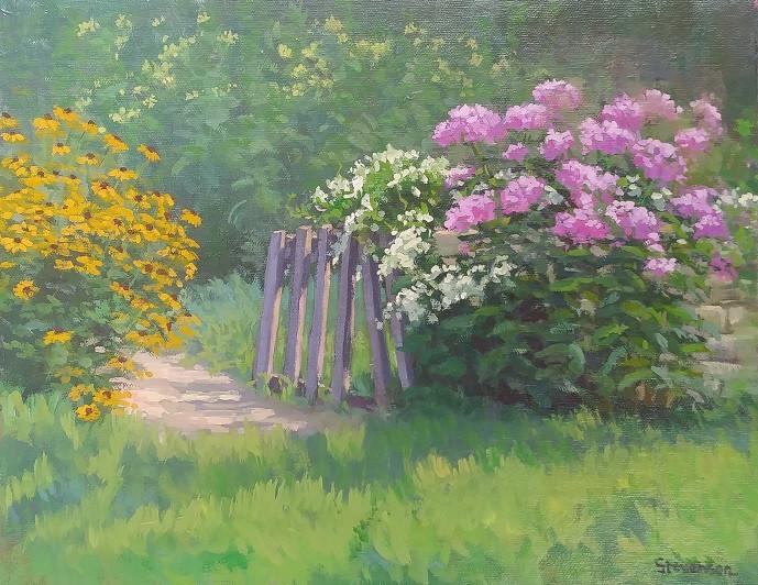 J. Stvenson-Zint, Oil on canvas.