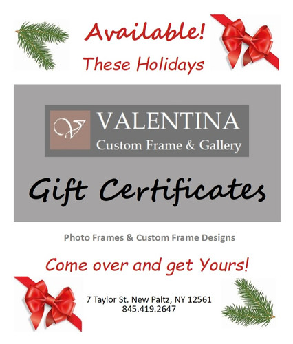 Holidays Gift Certificates