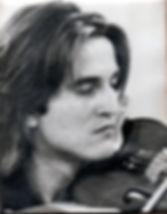 Romano Crivici young violin