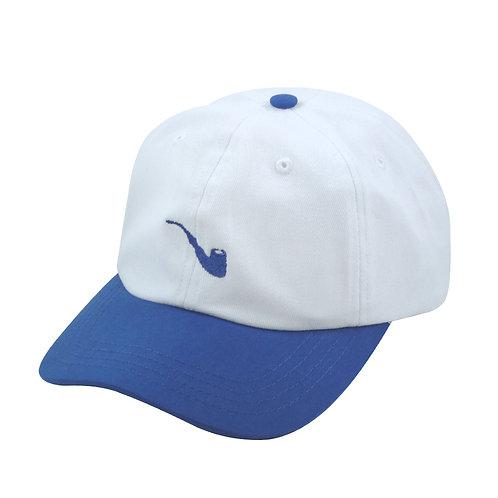 Strapback Pipe White Blue