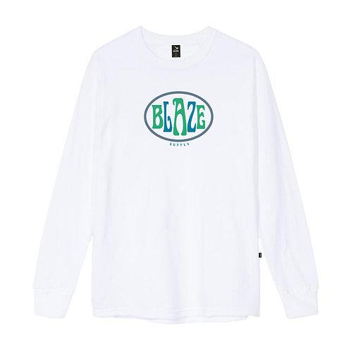 Camiseta Manga Longa Oval Branca