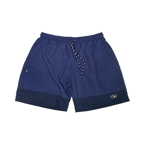 Shorts Bicolor Patch Marine