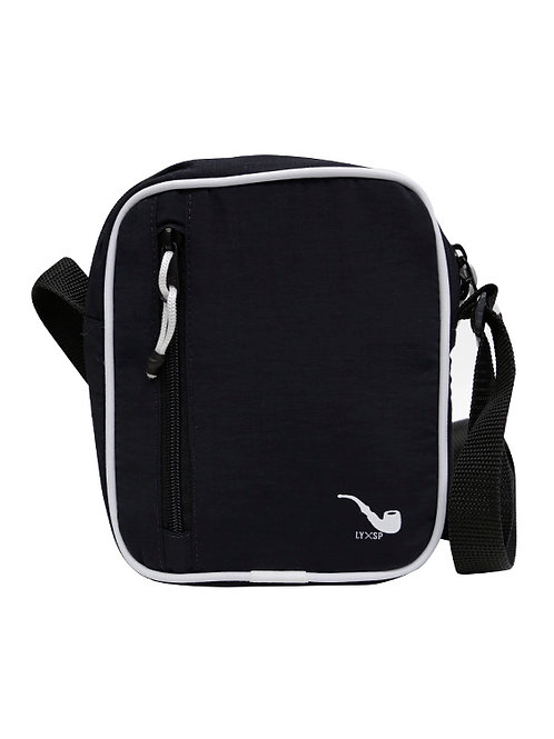Shoulder Bag Pipe Black