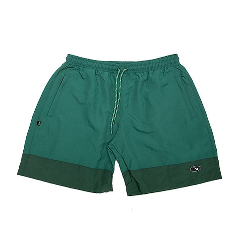Shorts Bicolor Patch Green