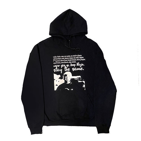 Hoodie Stay The Same Black