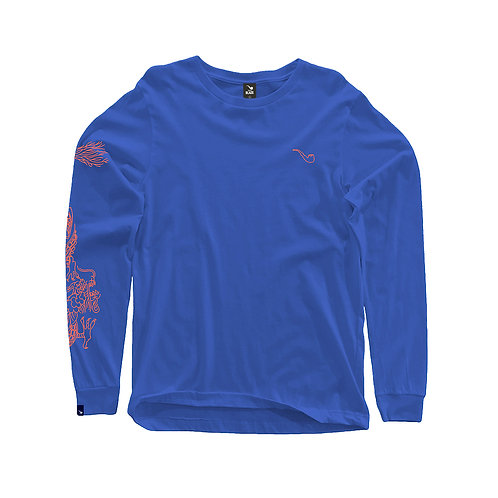 L/S Dragon Blue