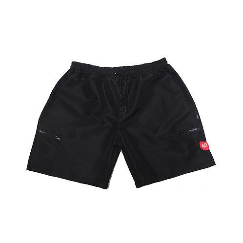 Shorts Patch Pocket Black