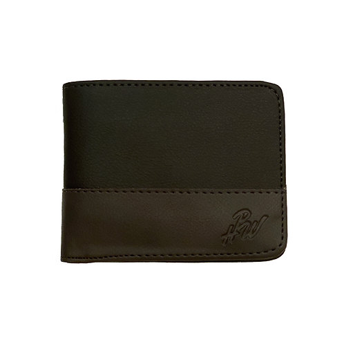 Hpw Black / Brown Wallet