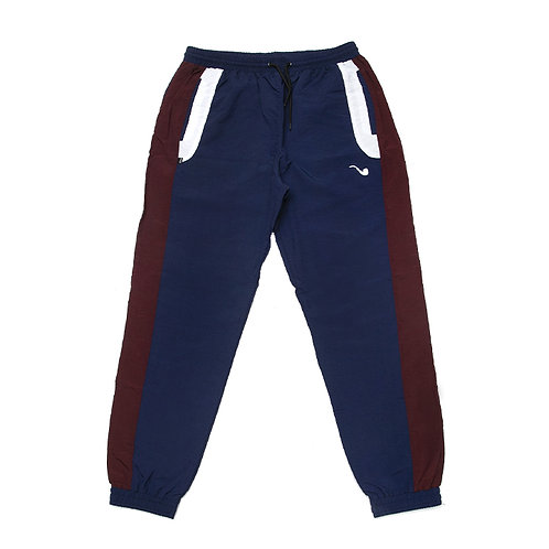 Track Pants Tricolor Pipe Marine