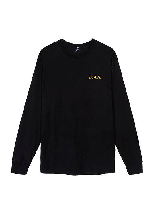 L / S Tee Volcano Black