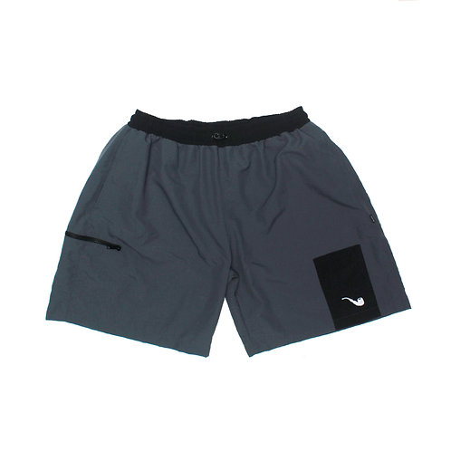 Shorts Trad Grey Black