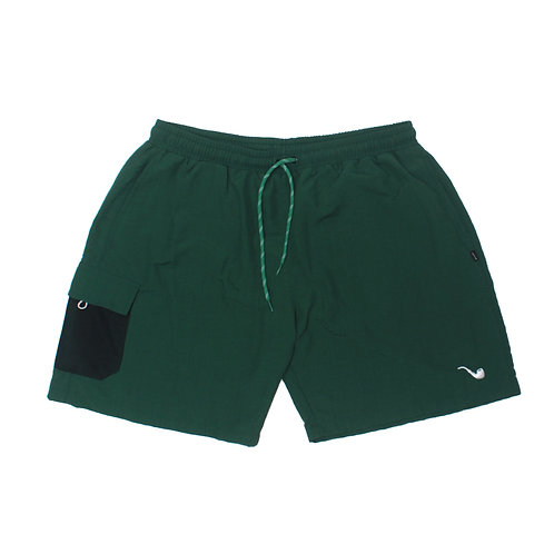 Shorts Pocket Pipe Green