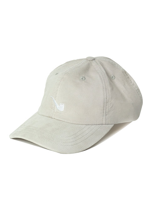 Strapback Velvet Pipe Off White