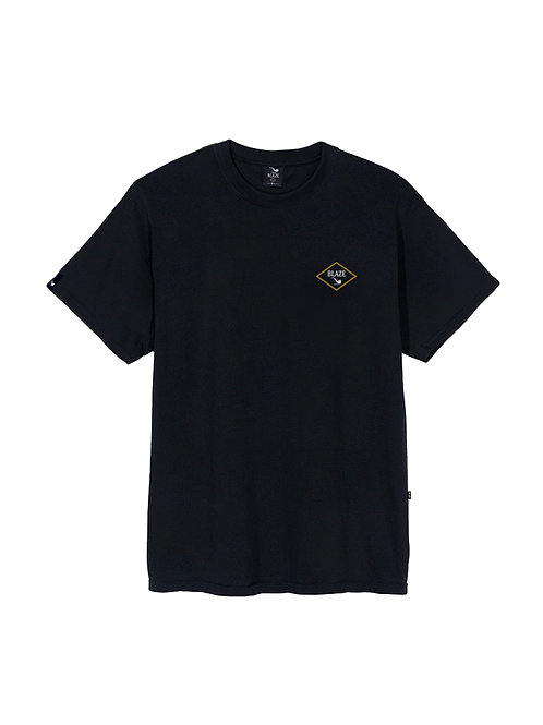 Tee Double Pipe Back Black