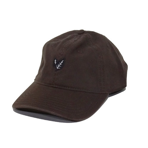 Strapback 2nd Logo Brown