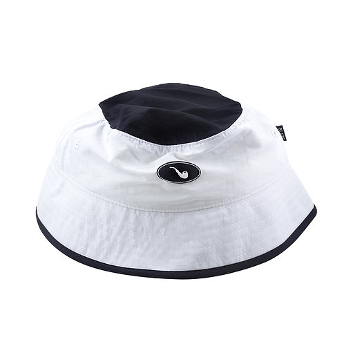 Bucket Patch Bicolor White