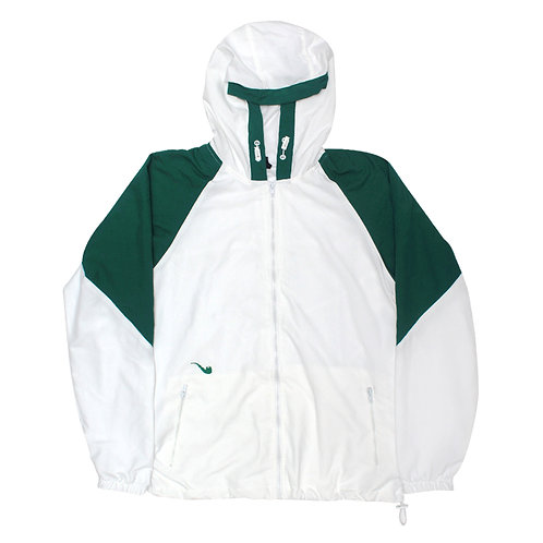 Jacket Trad White Green