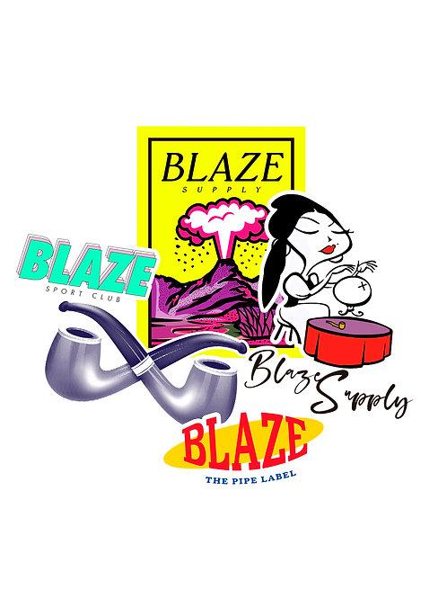 Adesivos Blaze R1