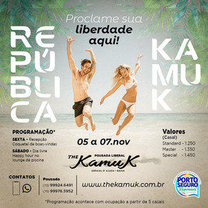 De 05 a 07 de novembro 2021, República Kamuk