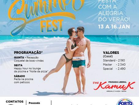 De 13 a 16 de janeiro 2022, Summer Fest