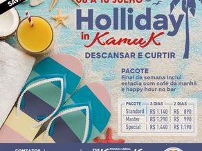 De 08 a 10 de julho 2021, Holliday in Kamuk